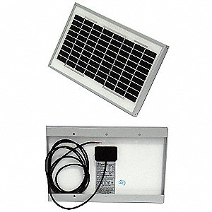 36-Cell Polycrystalline Solar Panel, 17.1VDC, 0.29A