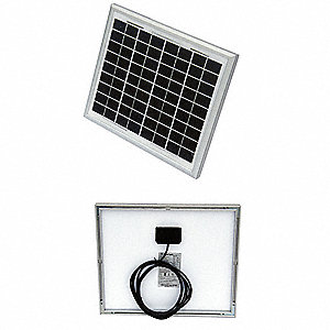 36-Cell Polycrystalline Solar Panel, 17.3VDC, 0.59A