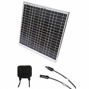 72-Cell Polycrystalline Solar Panel, 33.8VDC, 1.48A