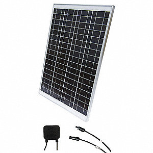 72-Cell Polycrystalline Solar Panel, 35.0VDC, 2.59A