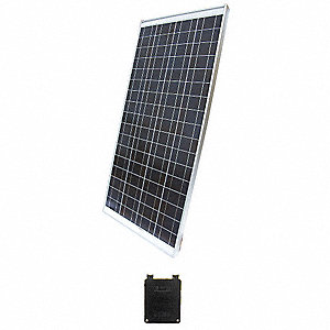 72-Cell Polycrystalline Solar Panel, 35.0VDC, 3.95A
