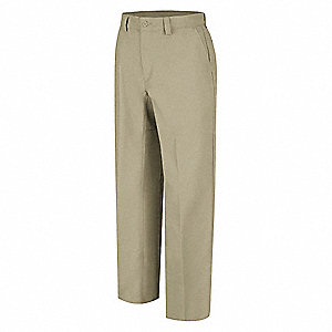 Work Pants,Khaki,Cotton/Polyester