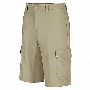 Cargo Shorts,Khaki,Cotton/Polyester