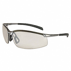 GX-8™ Scratch-Resistant Safety Glasses, Indoor/Outdoor Silver Mirror Lens Color
