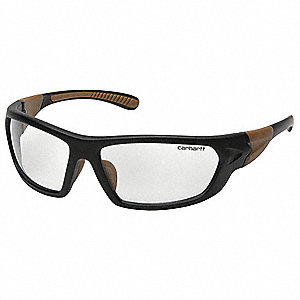 Carbondale Scratch-Resistant Safety Glasses, Clear Lens Color