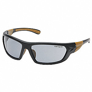 Carbondale Anti-Fog, Anti-Static, Scratch-Resistant Safety Glasses, Gray Lens Color