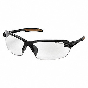 Spokane Scratch-Resistant Safety Glasses, Clear Lens Color