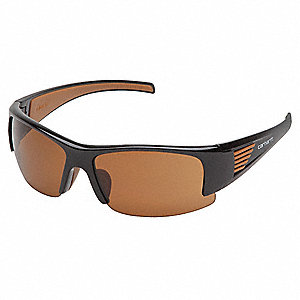 Thunder Bay Anti-Fog, Anti-Static, Scratch-Resistant Safety Glasses, Bronze Lens Color