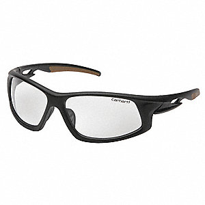 Ironside Anti-Fog, Anti-Static, Scratch-Resistant Safety Glasses, Clear Lens Color