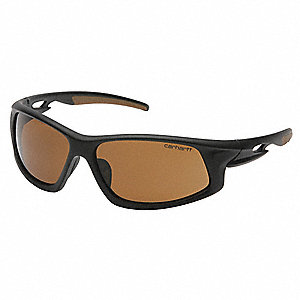 Ironside Anti-Fog, Anti-Static, Scratch-Resistant Safety Glasses , Bronze Lens Color