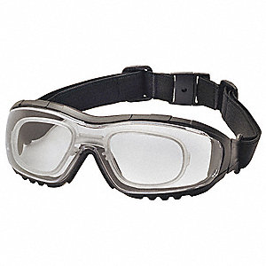 Anti-Fog, Anti-Static, Scratch-Resistant Direct Protective Goggles, Clear Lens