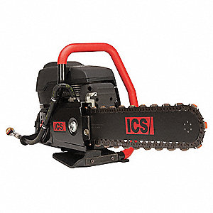 6.4 HP Concrete Chain Saw, Bar Length 12""