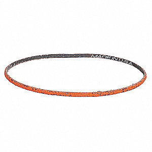 Sanding Belt,2 W x 48 In L,Grit 80