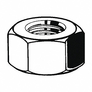 NUT HEX D934 8.8 ZP M27-3