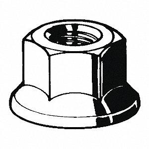 LOCKNUT MT GR.F ZP UNC 8-32