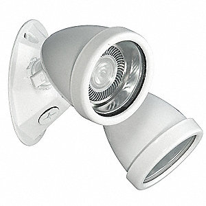 "6"" x 5"" x 6"" LED Remote Light Fixture, Ceiling/Wall Mounting"