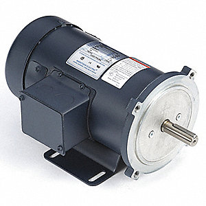 DC Motor,1/2HP,1750rpm,11-7/8 in,56C,90V