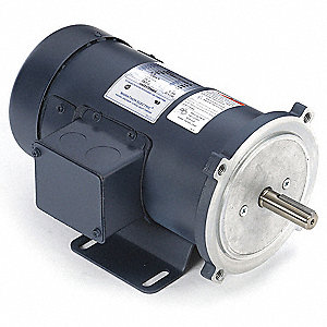 DC Motor,1/2HP,1750rpm,11-7/8in,56C,180V