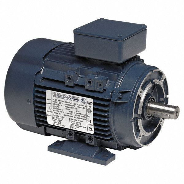 Marathon motors 2 hp metric motor 3 phase 1745 nameplate for General motors extended warranty plans