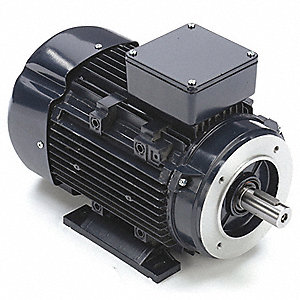 2 HP Metric Motor,3-Phase,1745 Nameplate RPM,230/460 Voltage,Frame 90L