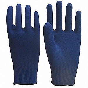 Winter Glove Liners,Navy,OneSize,Pr
