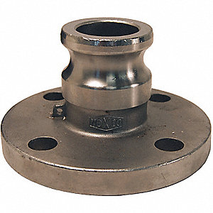 Flange Adapter,2 In,250 psi,SS