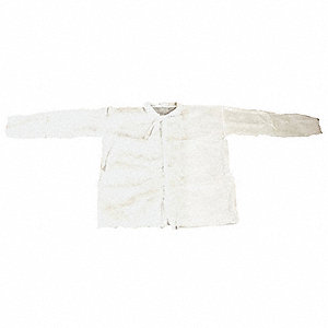 Shirt,Polypropylene,White,L,PK25