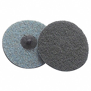 "1-1/2"" Non-Woven Quick Change Disc, TS/TSM Turn-On/Off Type 2, Very Fine, Aluminum Oxide, 1 EA"