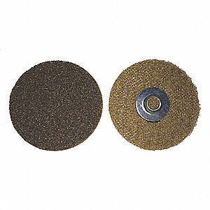 "3"" Non-Woven Quick Change Disc, TS/TSM Turn-On/Off Type 2, Coarse, Aluminum Oxide, 1 EA"
