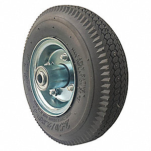 "8"" Light-Duty Sawtooth Tread Pneumatic Wheel, 220 lb. Load Rating"