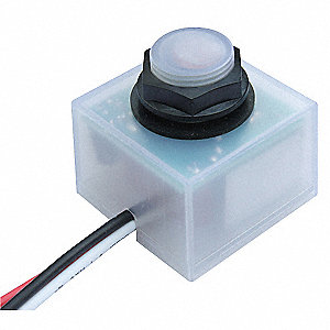 Photocontrol, 120 to 277VAC Voltage, 1662 Max. Wattage, Fixed Mounting