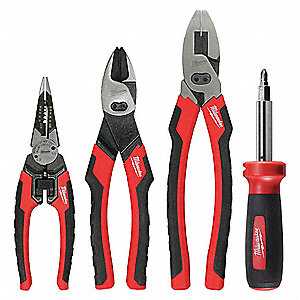 General Hand Tool Kit, Number of Pieces:  4, Application:  Journeyman