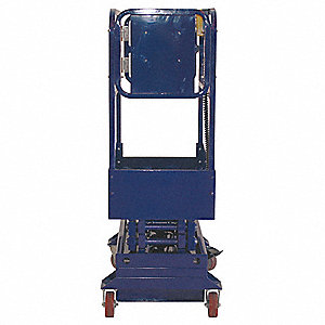 Scissor Lift,Push-Around,500 lb. Cap.