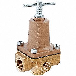 WATER PRESS REG VALVE,1/2IN,50-175P