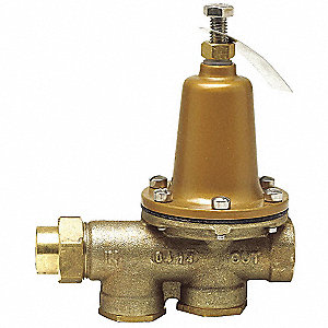 WATER PRESS REG VALVE,1/2IN,75-125P