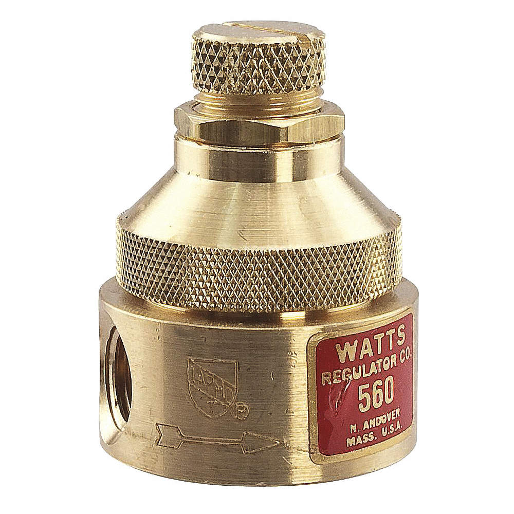 Watts 560 Series 1 12l Lead Free Brass Pressure Regulator 0 To