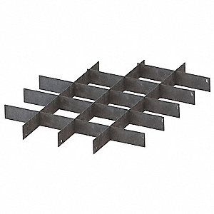 Divider Set,Galv,For 26X199,26X204,8 Pc