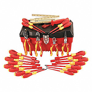 Insulated Tool Set, Number of Pieces: 25