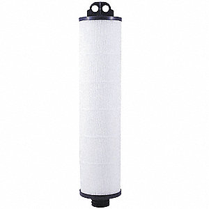 "1 Micron Rating Filter Cartridge, 6-11/32"" Diameter, 31"" Height, 50.00 gpm"