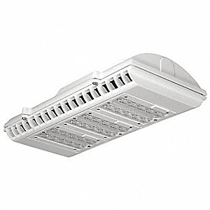 "17-3/4"" x 8-1/2"" x 3-7/16"" LED Parking Garage Light with 5828 Lumens"