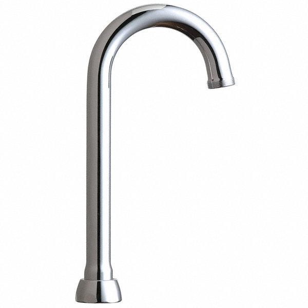 Chicago Faucets Gooseneck Spout For Most Faucets 26y220 Gn1ajkabcp Grainger