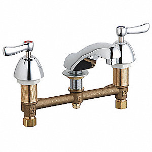 Faucet,Manual,Lever,1/2 In. NPSM,2.2 gpm