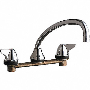 Kitchen Faucet,2.2 gpm,9-1/2In Spout