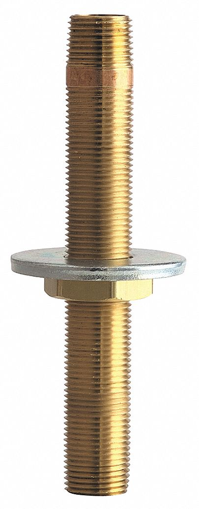 L,1//2-14 NPT CHICAGO FAUCETS 932-001KJKABRBF Inlet Shank,Brass,3 In