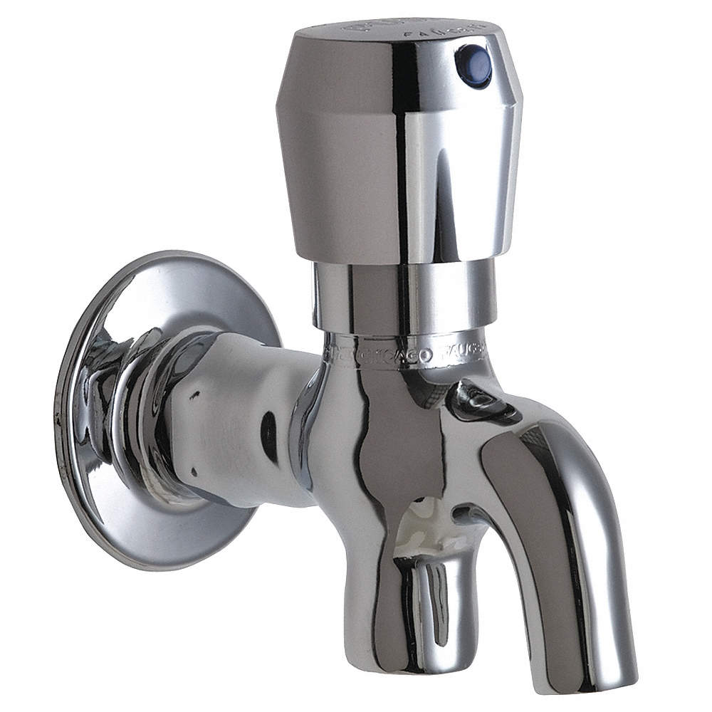 CHICAGO FAUCETS Brass Glass Filler, Metering Faucet Operation ...