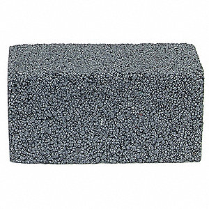 "Plain Floor Rubbing Brick, 24 Grit, 4"" L X 2"" W, Silicon Carbide"