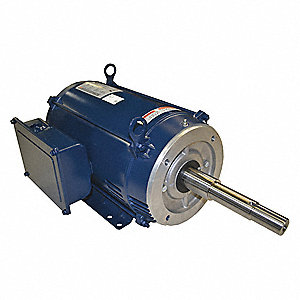 Century close coupled pump motor 3510 rpm 10 hp 26zy62 for Pump motor repair near me