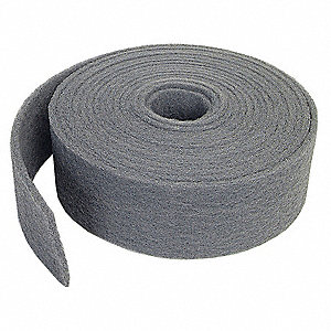 "Super Fine Silicon Carbide Abrasive Roll, 30 ft. L X 4"" W, 400 to 600 Grit"