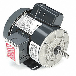 1/2 HP High Torque Farm Duty Motor,Capacitor-Start,1725 Nameplate RPM,115/208-230 Voltage