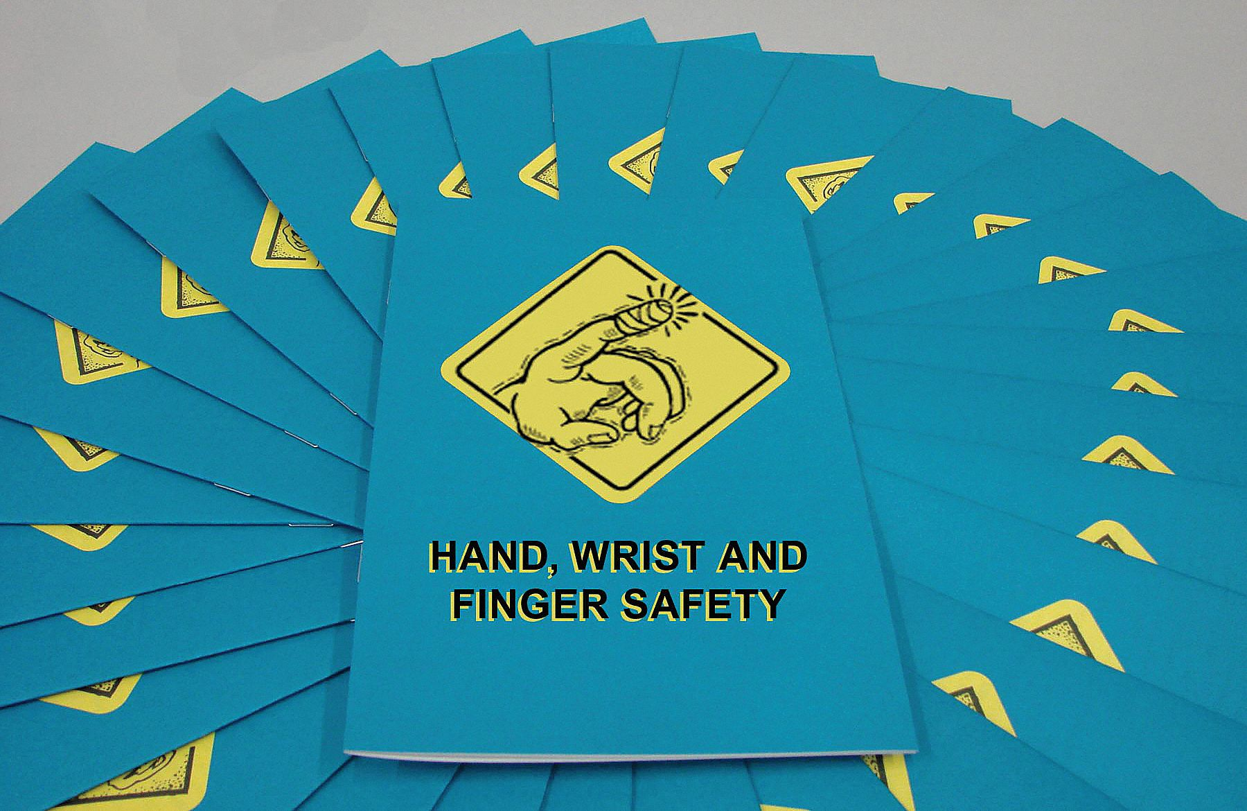 Book/Booklet,  Hand Safety,  English,  PK 15